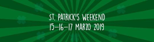 15 – 16 – 17 marzo 2019 | St. Patrick's Weekend al Greenwich Curtarolo e Fontaniva!